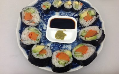 Healthy Vegan Sushi