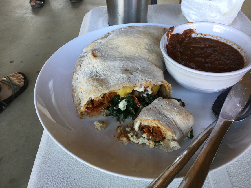 Plant-Based Calzone